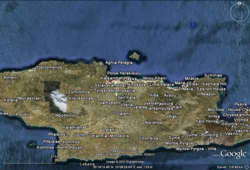 Minoan Crete Tsunami Inundation Map 4