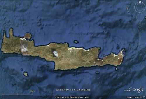 Minoan Crete Tsunami Inundation Map 6